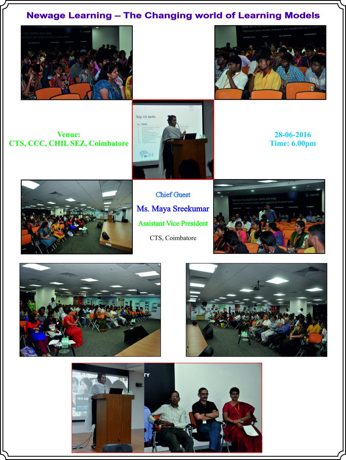 Computer Society of India, Coimbatore Chapter, Coimbatore